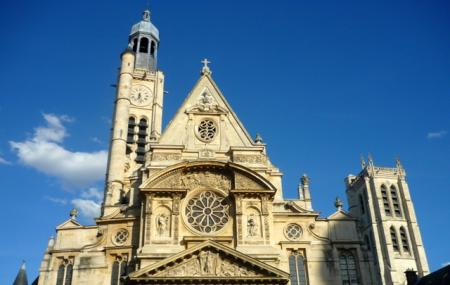 Saint Etienne Du Mont Image