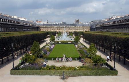 jardin du palais royal, paris | ticket price | timings | address