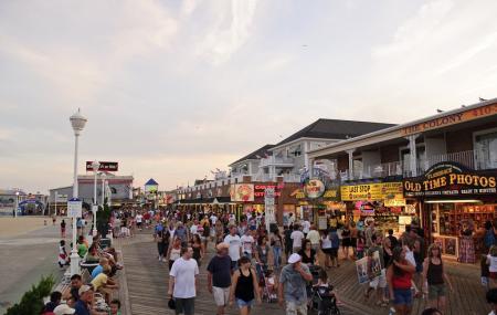 Ocean City Boardwalk Image