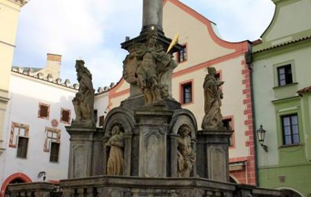 Plague Column, Cesky Krumlov