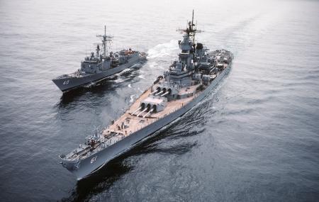 Battleship Uss Iowa Bb-61 Image
