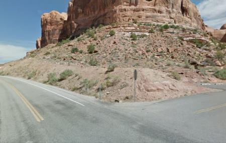 Negro Bill Canyon Trail, Moab