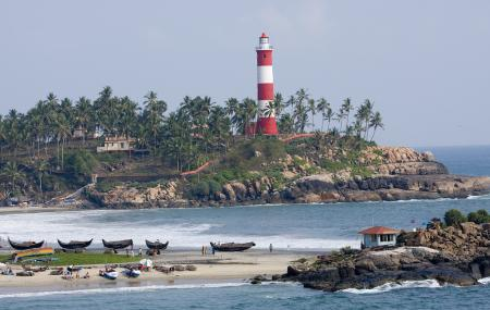 Vizhinjam Lighthouse And Beach, Kovalam