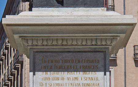 Monumento De Alvaro De Bazan, Madrid