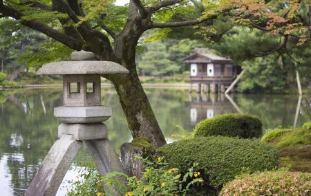 Kenrokuen Garden, Kanazawa-shi