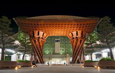 Tsuzumi Gate And Motenashi Dome, Kanazawa-shi
