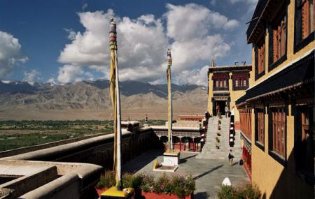 Thiksey Monastery Image