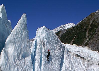 Franz Josef Glacier Image