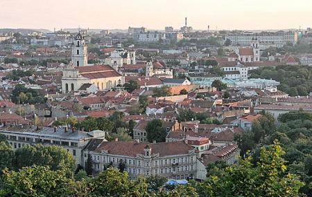 Vilnius Old Town Image