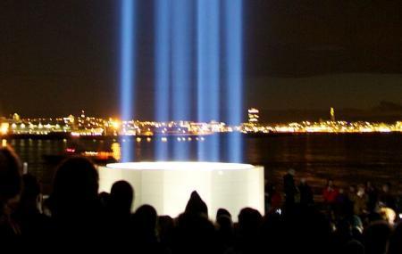 Imagine Peace Tower, Reykjavik