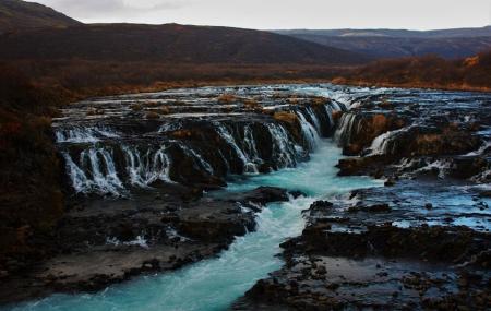 Bruarfoss Waterfall, Reykjavik