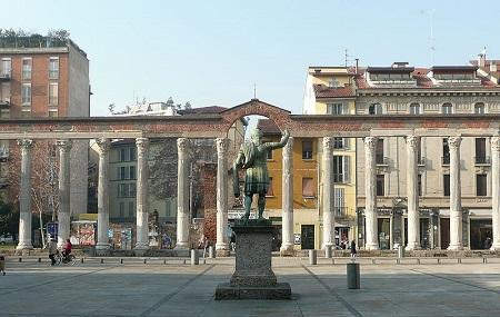Colonne Di San Lorenzo, Milan