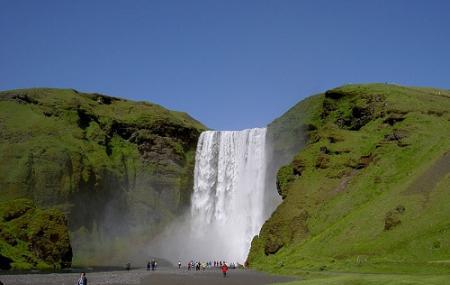 Skogafoss Waterfall Image