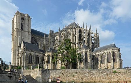 Cathedrale De Saint-julien De Mans , Le Mans