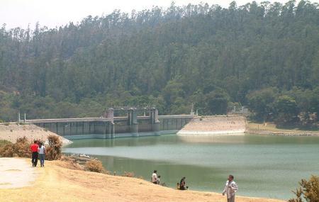 Kamaraj Sagar Dam, Sholur