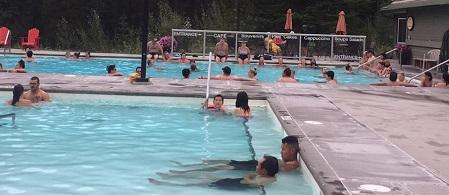 Miette Hot Springs Image