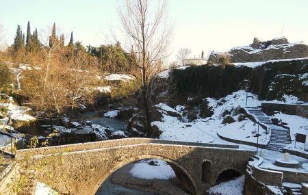 Old Ribnica River Bridge Image