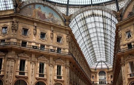 The Galleria Vittorio Emanuele Ii Image
