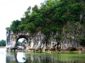 Elephant Trunk Hill And Xiangbishan Park, Guilin