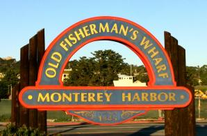 Coast Guard Pier And Old Fisherman's Wharf, Monterey