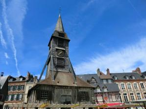 Saint Catherine's Church And Bell Tower, Honfleur