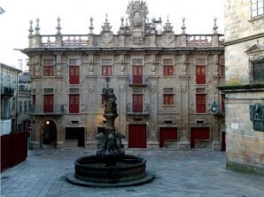 Praza Das Praterias, Santiago De Compostela