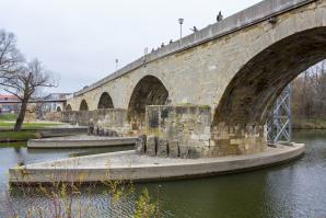 The Stone Bridge And Museum, Regensburg