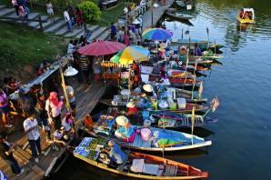 Floating  Market, Hat Yai