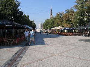 Dunavska Street & Zmaj Jovina Street, Novi Sad