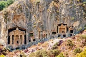 Lycian Rock Tombs, Dalyan