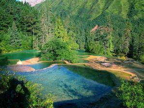 Huang Long National Scenic Reserve, Jiuzhaigou