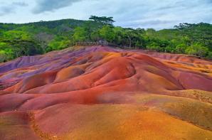 Chamarel Coloured Earth, Chamarel