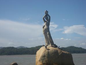 Statue Of Fisher Girl, Zhuhai