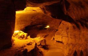 Mawmluh Cave, Cherrapunji