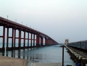 Annai Indira Gandhi Road Bridge, Rameshwaram