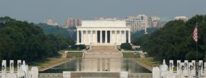 Lincoln Memorial Reflecting Pool, Washington D. C.