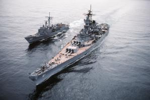 Battleship Uss Iowa Bb-61, Los Angeles