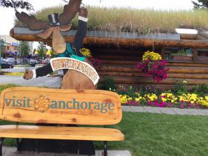 Anchorage Log Cabin Visitor Information Center, Anchorage