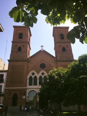 Iglesia Virgen De La Paloma, Madrid