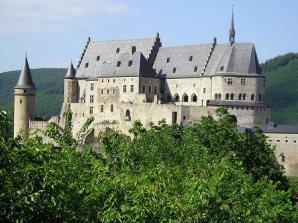 Vianden Castle, Luxemburg City