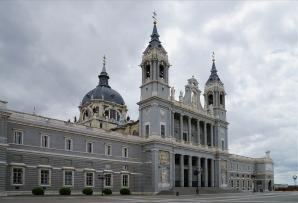 Almudena Cathedral And Crypt, Madrid