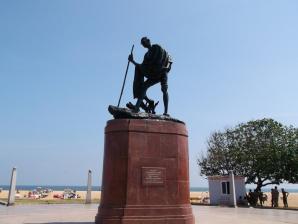 Gandhi Statue, Chennai