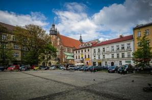 Plac Wolnica, Krakow