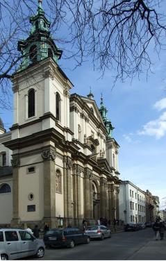 Church Of St. Anne, Krakow
